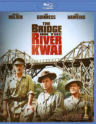 The Bridge on the River Kwai (Blu-ray Disc, 2011) William Holden  NEW/SEALED