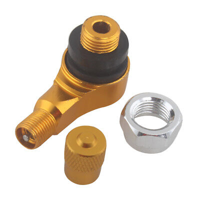 Golden CNC Motorcycle 90 Degree 11.3mm Wheel Tire Stem Tubeless Valve for Honda