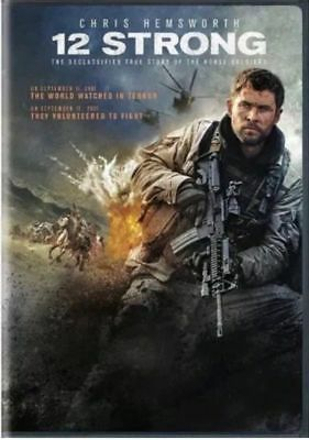 12 Strong (DVD,2018) Brand NEW! Drama, War History, Factory Sealed!, FREE SHIP!!