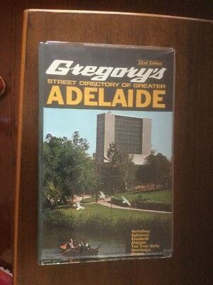 Gregory's Street Directory of Adelaide & Suburbs - 22nd Edition