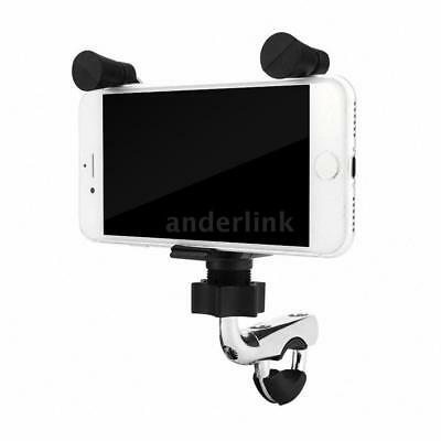 Motorcycle E-bike Bicycle 2 in 1 Stand Holder Mount Bracket USB Port R9Q0