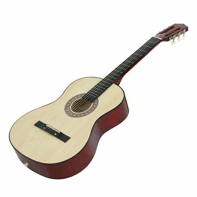 "38"" Full size Starters Natural Acoustic Guitar Includes Guitar Pick Accessories"