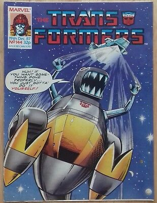 Transformers UK Comic Issue 144