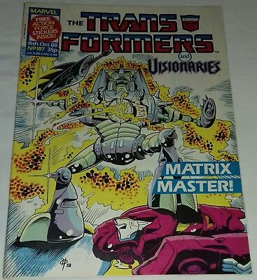 Transformers UK Comic Issue 187