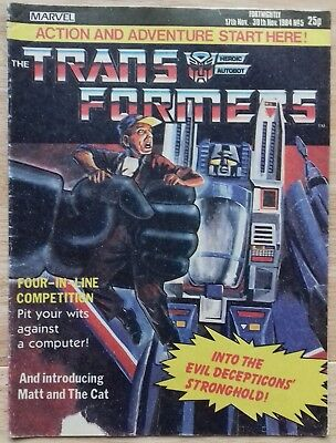 Transformers UK Comic Issue 5
