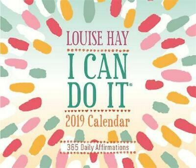 I Can Do It 2019 Calendar: 365 Daily Affirmations by Louise Hay Free Shipping!