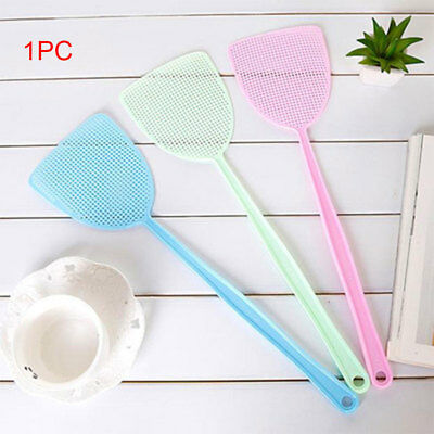 AU Extendable Fly Swatter Useful Extending Insect Mosquito Wasp Swat Catcher
