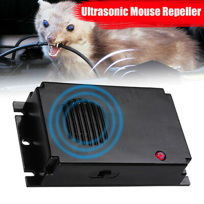 Home/Car Ultrasonic Mouse Mice Rat Pest Repeller Battery Powered Pest Controller