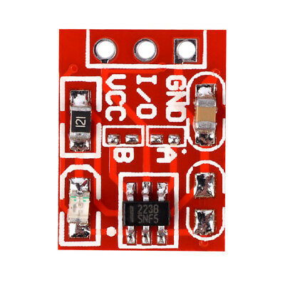 1/5/10Pcs New  TTP223 Self Locking Capacitive Touch Switch Button Module 15*11mm
