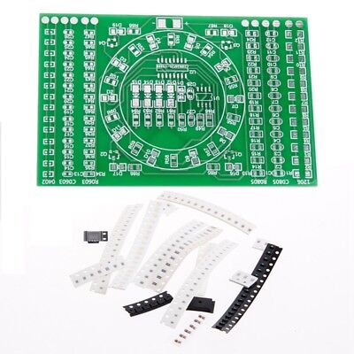 SMD Flashing LED Components Soldering Practice Board Skill Electronic Circuit