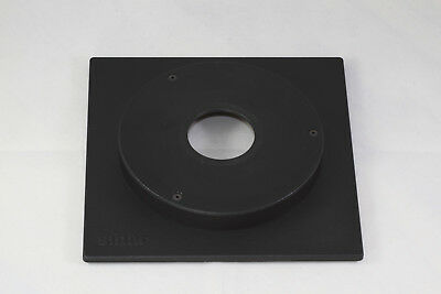 Genuine Sinar Lens Board, 35mm Compur #0, 13mm extended / tophat for LF Cameras