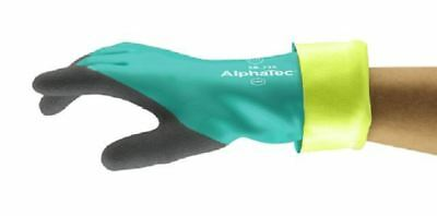 Ansell 58-735 Nitrile Cut Proof Rubber Gloves Size 9 L Food Approved Chemicals