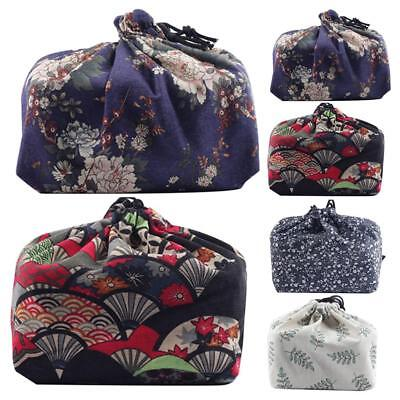 Japanese Style School Lunch Bento Bag Storage Box Travel Picnic insulation Bag