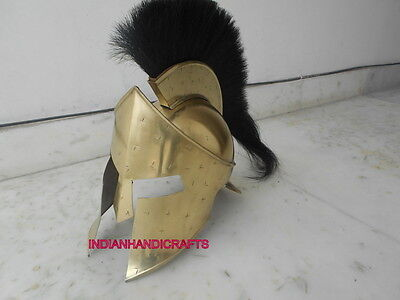 Collectibles 300 King Leonidas Armour Helmet Greek Spartan Movie 300 Helmet