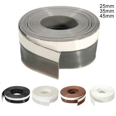 5M Rubber Sealing Strip Draught Excluder Tape Draft Insulation For Door 25mm TR