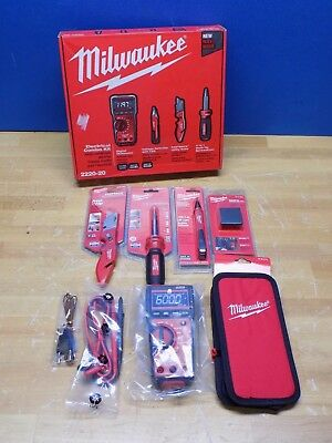 Milwaukee Electrical Test and Measurement Tool Combo Kit 2220-20