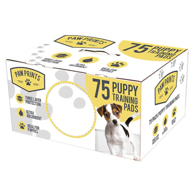 Quality Dog Puppy Pads Large Absorbent Training Trainer Pads Toilet Wee 75 Pack