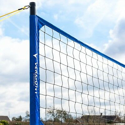 Pro Volleyball Set | Portable | Outdoor Adjustable Posts | Beach Volleyball Set