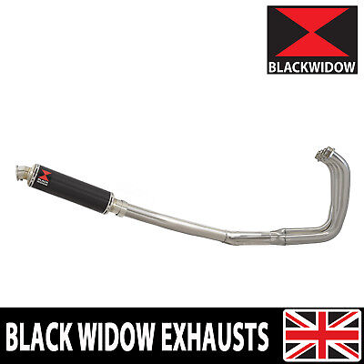 ZXR 400 Ninja 89/03 H J K L M Exhaust System + Round Carbon Stainless Tip CN35R