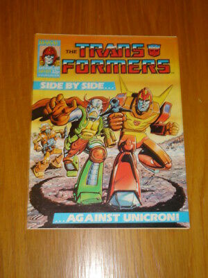 Transformers British Weekly #151 Marvel Uk Comic 1988