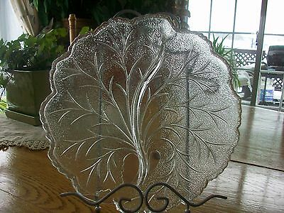 Vintage Indiana Depression Glass Relish Twiggy Plate
