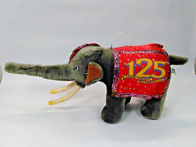 Ringling Brothers Barnum And Bailey Circus 125th Anniversary Elephant Plush