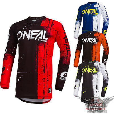 Oneal Element Motocross Jersey Shred Enduro Offroad Cross Quad Mx Sx Dh Fr