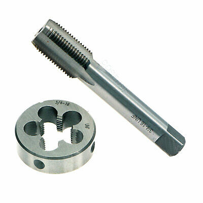 3/4-16 UNF Right Hand Thread Tap and Die Set 3/4'' - 16 TPI Threading HSS