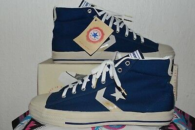 74c1167ec3d0 CONVERSE ALL STAR Vintage Rare Canvas Deadstock OG MADE IN USA 11 ...