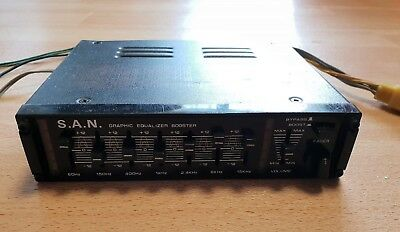 S.A.N Graphic Equalizer Booster 200W