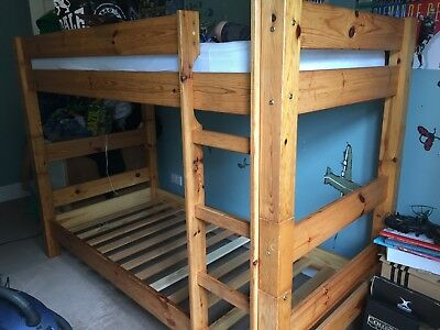 Kids Bunk Beds Second Hand Solid Wood Construction 74 00