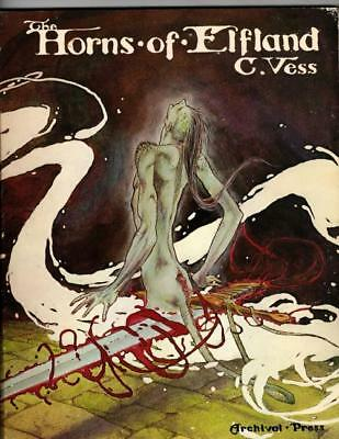 The Horns of Elfland by Charles Vess Signed