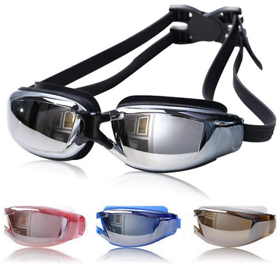 Swimming Goggles Anti Fog No Leaking Swim Glasses with Free Nose Clip & Earplugs