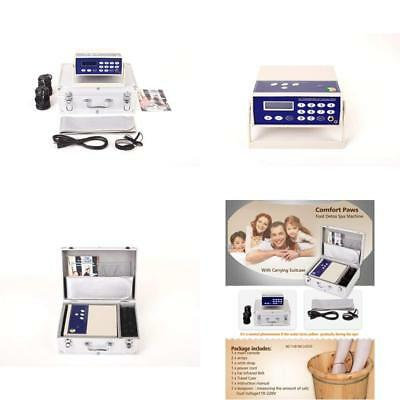 Oileus Professional Ionic Foot Bath Detox Machine Dual-User Multi-Mode System Wi