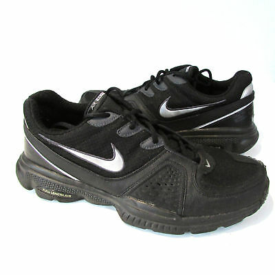 cheap for discount 5703a bb67e NIKE AIR EDGE TRAINER 08 Black Silver 318041 001 Trainer Mens 11.5 ...