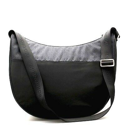 the best attitude discount shop special section BORBONESE SMALL SHOULDER bag Hobo Nylon CLASSIC BRO ...