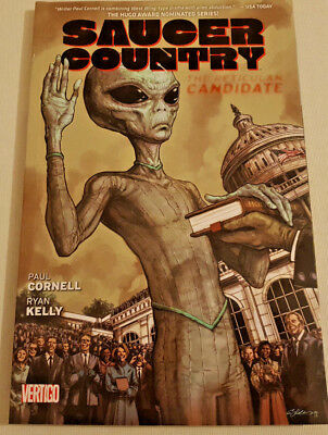 Saucer Country The Reticulan Candidate Paperback Paul Cornell IDW