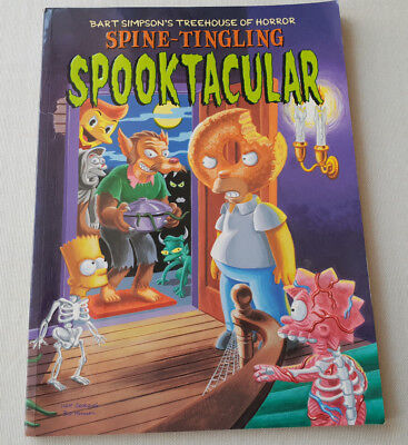 Spine-tingling Spooktacular (Bart Simpson's Treehouse of Horror) Paperback