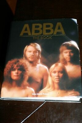 "Vintage Rare 2000 ""abba The Book"" Coffee Table 263 Page Large Hardcocover Book!"