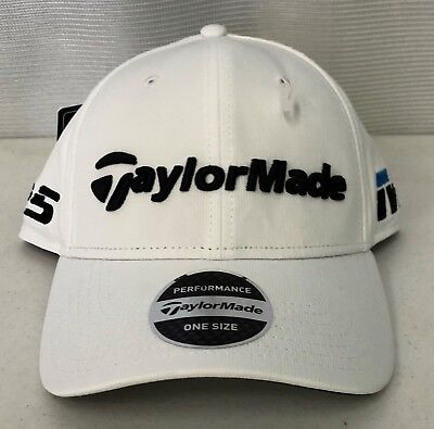 TaylorMade Tour Radar Adjustable Golf Hat - White - Adjustable