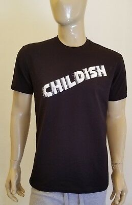 Childish Gambino Black T-shirt This Is America Tour Concert Tee Forever Cole