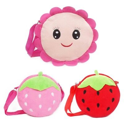 Mini Cute Plush Shoulder Bag Coin Purses Bag Snack Bags For Kids Children 1PC
