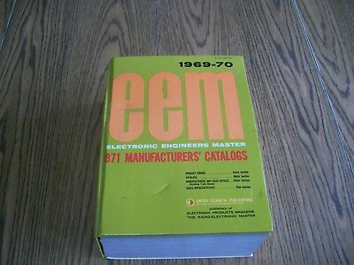 eem electronic engineers master manufactures catalogs reference vintage 1969-70