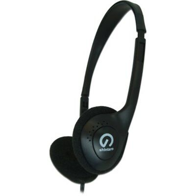 Shintaro Headphones Sh101 Lightweight Stereo With Volume Control Kit
