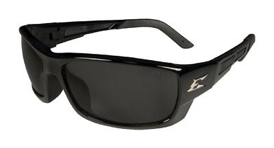 Edge Eyewear PM116 Brazeau Slim Fit Safety Glasses, Black