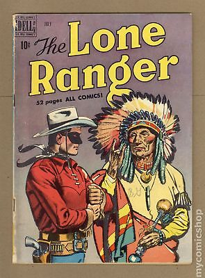 Lone Ranger (Dell) #25 1950 GD/VG 3.0