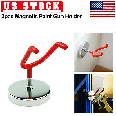 Gravity Spray Gun Holder Magnetic Stand Paint Shop Spray Tool Heavy Duty AU