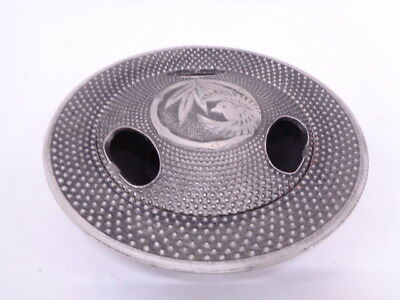 3713208: Japanese Metal Products / Ash Tray / Nanbu Tekki / Bamboo Grass & Bird