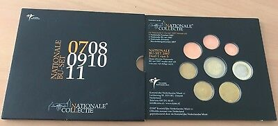 Niederlande 2007 Nationale Collective BU Set KMS 3,88€ im Folder