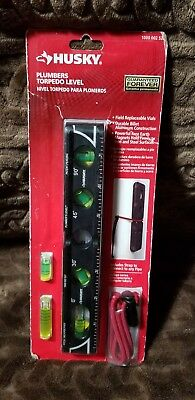 Husky plumbers torpedo level brand new in the package